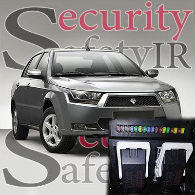 نصب دزدگیر و پاور دنا (با سیستم SMS) + تصویر