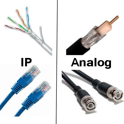 مقایسه دوربین آنالوگ و شبکه