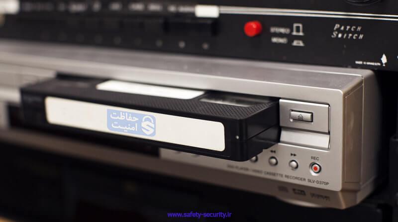 دستگاه ضبط VCR