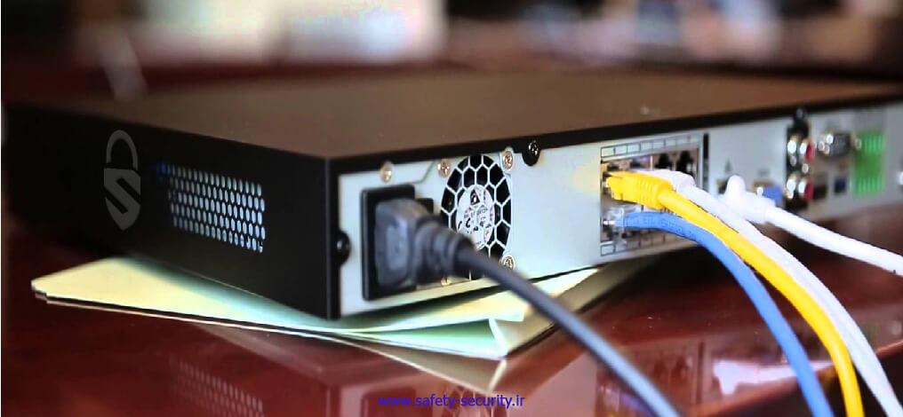 نصب دستگاه NVR