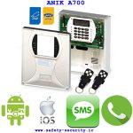 راهنماي کامل تنظیمات دستگاه دزدگیر اماکن آنیک A700 و A600