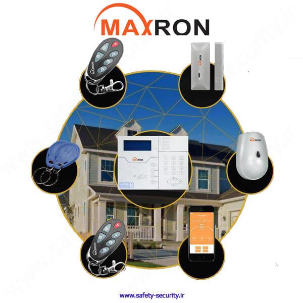نحوه نصب دزدگیر اماکن مکسرون (MAXRON)