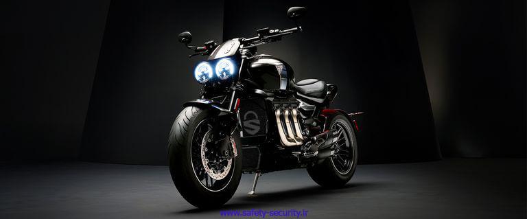 Triumph Rocket 3 TFC، بزرگترین پیشرانه در بین موتورسیکلتها